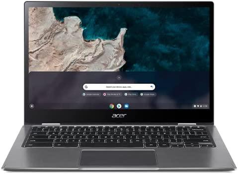 "Acer Chromebook Enterprise Spin 513 R841LT-S6DJ | 13.3"" FHD IPS Touch Corning Gorilla Glass Display | Qualcomm Snapdragon 7c Compute Platform | 8GB LPDDR4X | 128GB eMMC | 4G LTE | WiFi 5 | Chrome OS"