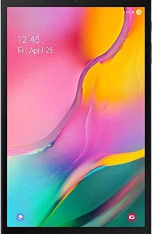 Samsung Galaxy Tab A 10.1-inch Touchscreen (1920x1200) Wi-Fi Tablet Bundle, Exynos 7904A Processor, 3GB RAM, 128GB Memory, BMali-G71 MP2 Graphics, Bluetooth, Android 9.0 Pie OS (Renewed)