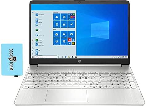 "HP 15z-ef Home & Business Laptop (AMD Ryzen 7 5700U 8-Core, 16GB RAM, 512GB PCIe SSD, AMD Radeon, 15.6"" Full HD (1920x1080), WiFi, Bluetooth, Webcam, 2xUSB 3.0, 1xHDMI, Win 10 Home) with Hub"
