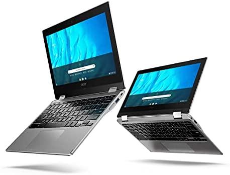 Acer Chromebook Spin 311 Convertible 2-in-1 Laptop, MediaTek MT8183C Octa-Core Processor, 11.6in HD Touch, 4GB LPDDR4, 32GB eMMC, Gigabit, WiFi 5, Bluetooth, Google Chrome