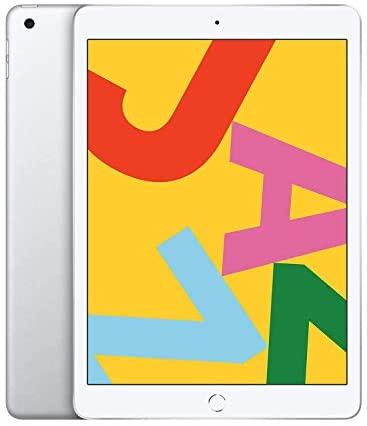 Apple iPad Late 2019, 10.2-Inch, Wi-Fi, 32GB Silver (Renewed)