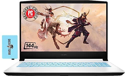 "MSI Sword Gaming & Business Laptop (Intel i7-11800H 8-Core, 16GB RAM, 512GB PCIe SSD, RTX 3050 Ti, 15.6"" Full HD (1920x1080), WiFi, Bluetooth, Webcam, 1xUSB 3.2, Win 10 Home) with Hub"