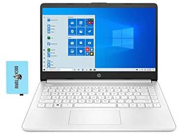 "HP 14z Home & Business Laptop Google Classroom & Zoom Compatible (AMD 3020e 2-Core, 8GB RAM, 512GB PCIe SSD, AMD Radeon Graphics, 14.0"" HD (1366x768), WiFi, Bluetooth, Webcam, Win 10 H) w/Hub"