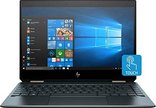 """HP Spectre x360 13 2-in-1 Laptop: Core i7-8565U, 16GB RAM, 512GB SSD, 13.3"""" 4K UHD Touchscreen Display, Backlit Keyboard, Fingerprint Reader"""