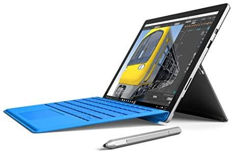 Microsoft Surface Pro 4; 256 GB, 8 GB RAM, Intel Core i5 (Renewed)