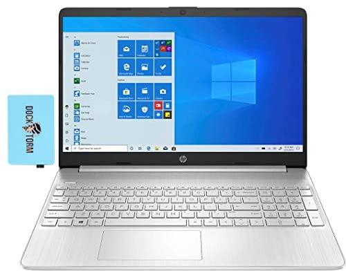"Newest HP 15z - ef1010nr nt Laptop for Student & Business (AMD Athlon Gold 3150U 2-Core, 8GB RAM, 512GB m.2 SATA SSD, AMD Radeon, 15.6"" HD (1366x768), WiFi, Bluetooth, Webcam, Win 10 Home) with Hub"