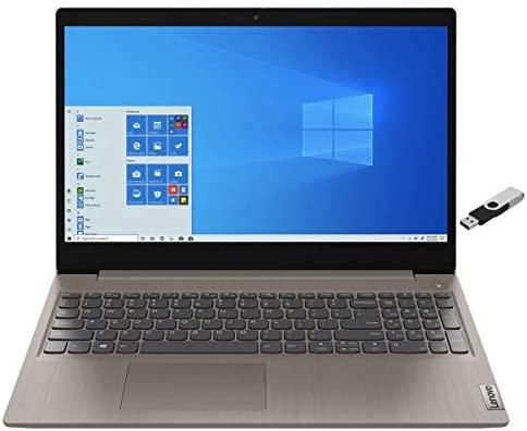 """2021 Lenovo Ideapad 3 High Performance Business Laptop 15.6"""" HD Touchscreen -Intel 10th Gen i5-10210U Quad Core - 12GB DDR4 512GB SSD - WiFi 6 - Win10 Pro w/ RATZK 32GB USB Drive"""