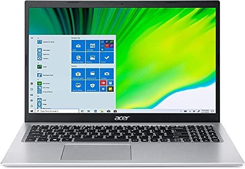 "2021 Acer Aspire 5 Slim Laptop, 15.6"" FHD BuleLightShiel, 11th Gen Intel Core i3-1115G4 Processor, Windows 10 H (S Mode), WiFi 6, Type-C, 3 in 1 (8GB RAM | 256GB PCIe SSD | 1TB HDD)"