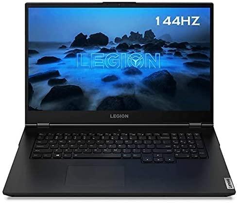 """Lenovo Legion 5 Gaming Laptop, 17.3"""" FHD IPS 300Nits 144Hz Display, AMD Ryzen 7 4800H, Webcam, Backlit Keyboard, Wi-Fi 6, USB-C, HDMI, GeForce GTX 1660 Ti, Win 10, 16GB RAM   1TBGB PCIe SSD   1TB HDD"""