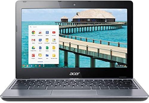 "Acer C720-2844 11.6"" Intel Celeron 2955U Dual-Core 4GB 16GB SSD LED Chromebook (Renewed)"