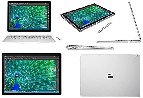 """Microsoft Surface Book Tablet PC - 13.5"""" - PixelSense - Wireless LAN - Intel Core i5 i5-6300U Dual-core (2 Core) 2.40 GHz - Silver SV7-00001"""