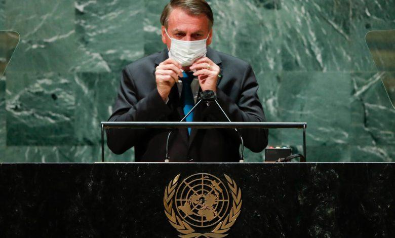 Brazil health minister tests positive for the coronavirus