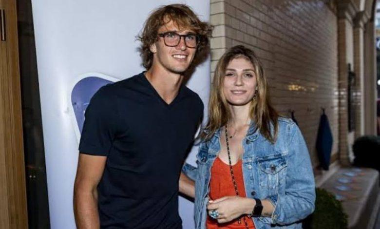 Alexander Zverev and Olya Sharypova