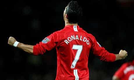 Cristiano Ronaldo Jersey Number At Man United