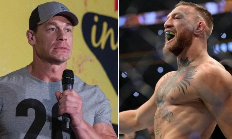John Cena wants Conor McGregor to perform in WWE