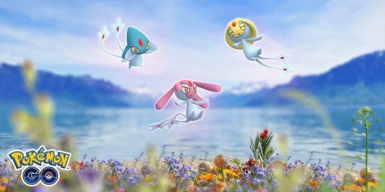 Shiny odds for Mesprit, Uxie, and Azelf in Pokémon Go