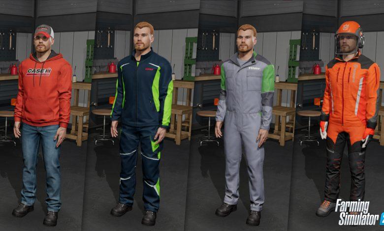 Farming Simulator 22 will feature an overhauled character creator