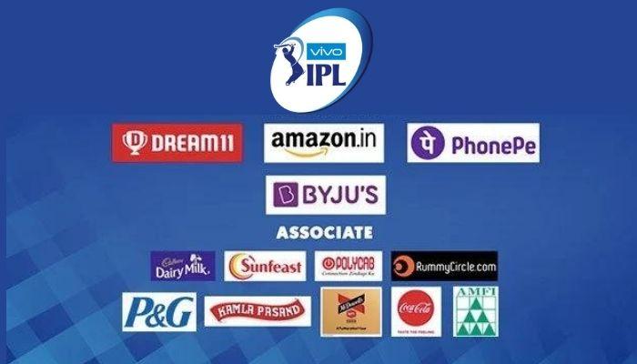 IPL 2021 Sponsors List