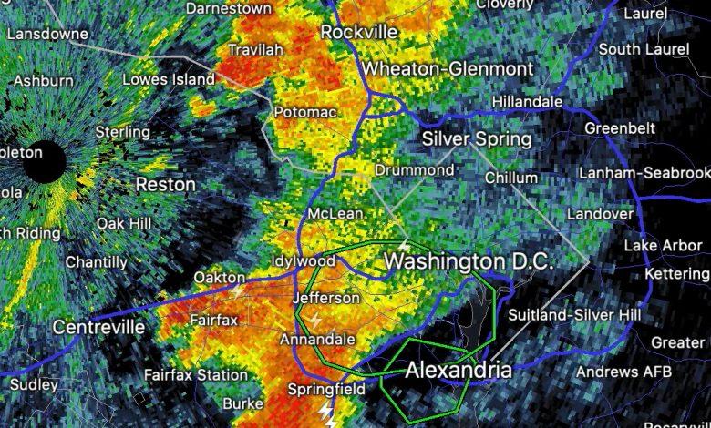 How torrential rain flooded Arlington, Alexandria and Annandale Thursday