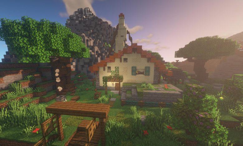 Zelda Fan Recreates Link's Breath of the Wild House in Minecraft