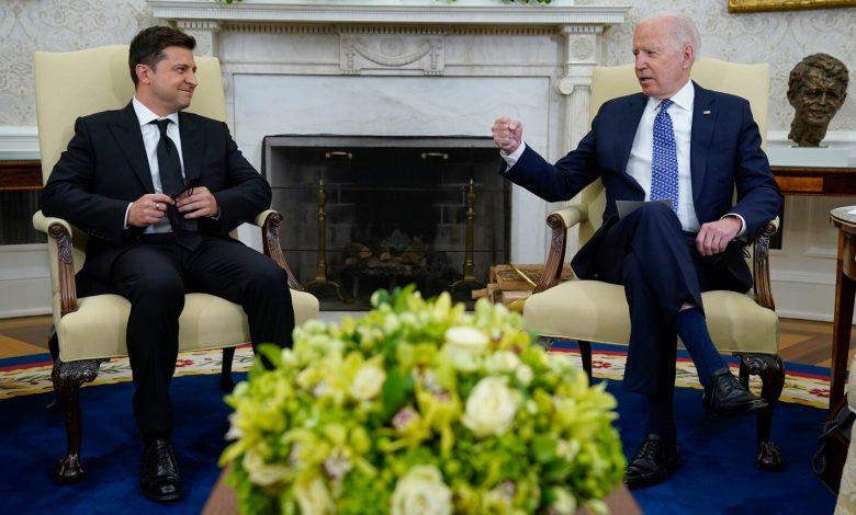 Biden meets Ukraine's Zelensky at White House