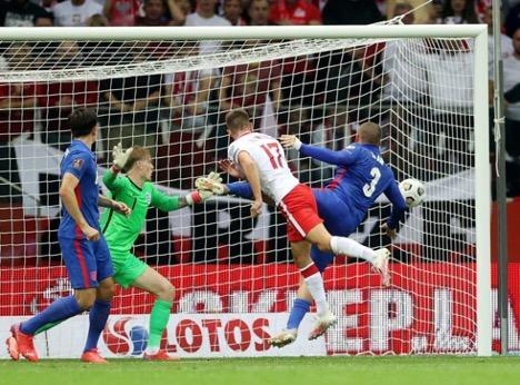 Poland vs. England Football Match Brief Review