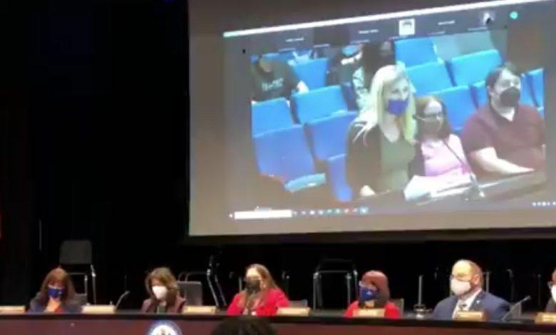 Horrified Crowd Shouts as Parent Shows School's Pedophilia Comics at Board Meeting
