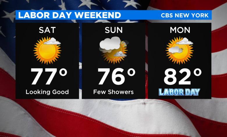 Mostly Sunny, Upper 70s Saturday – CBS New York