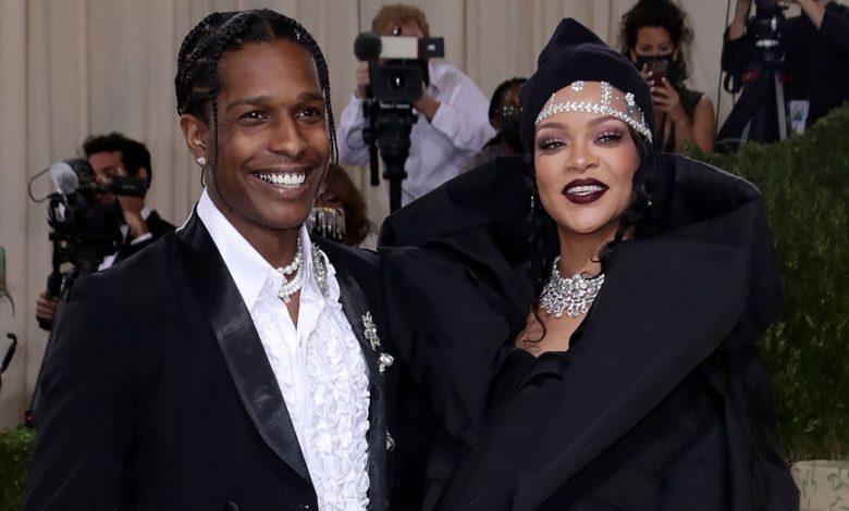 Rihanna, A$AP Rocky Arrive Late Together
