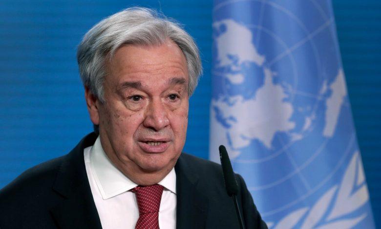 UN chief urges 'rapid' emission cuts to curb climate change