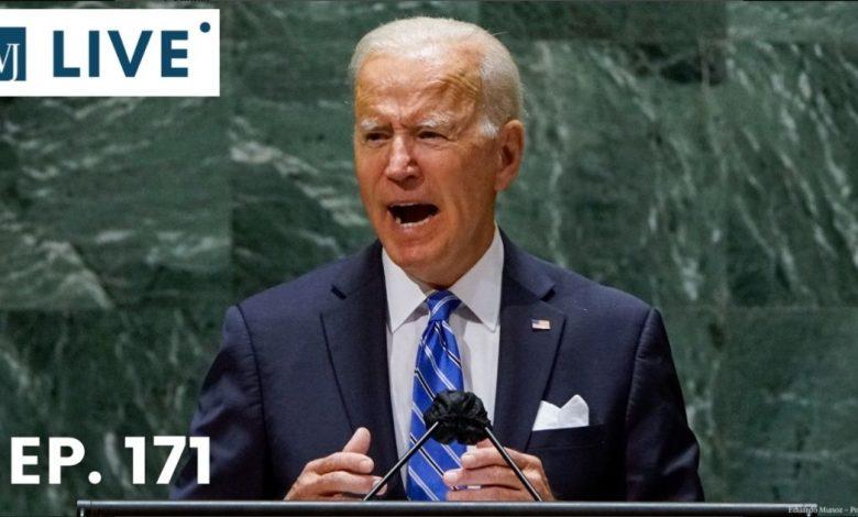 Biden's Handlers Stop Reporters from Asking Boris Johnson Questions Mid-Sentence