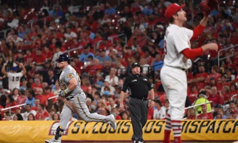 Cardinals winning streak: St. Louis shut out by Brewers, ending winning streak at 17 games