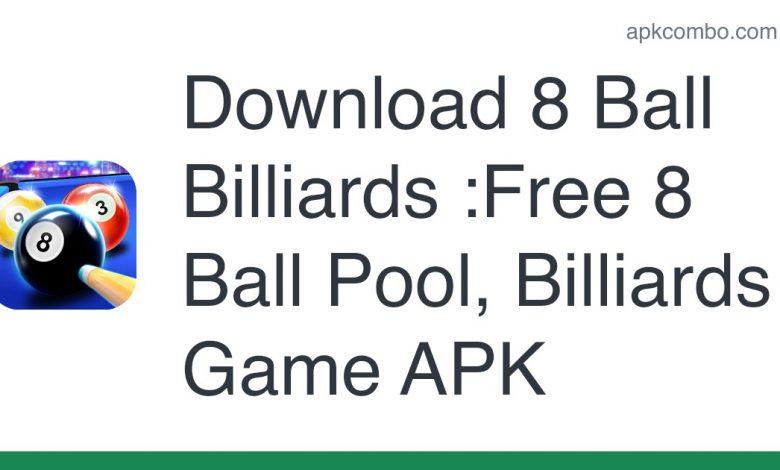 Download 8 Ball Billiards :Free 8 Ball Pool, Billiards Game APK