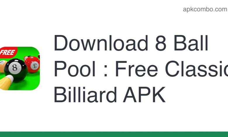 Download 8 Ball Pool : Free Classic Billiard APK