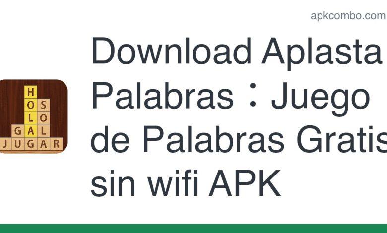 Download Aplasta Palabras:Juego de Palabras Gratis sin wifi APK