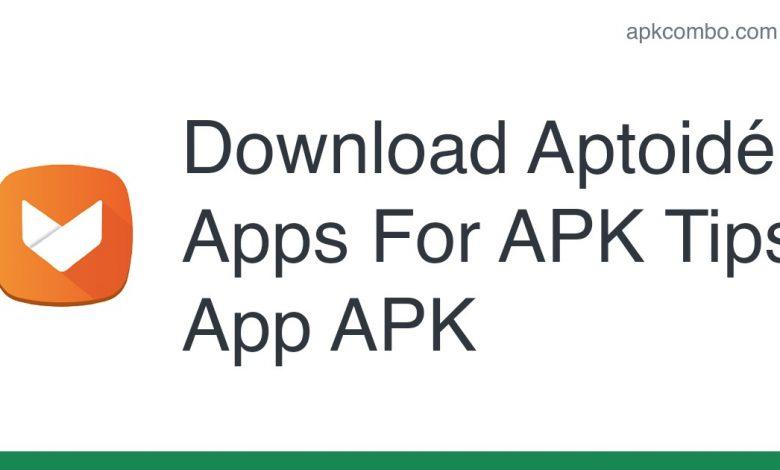 Download Aptoidé Apps For APK Tips App APK