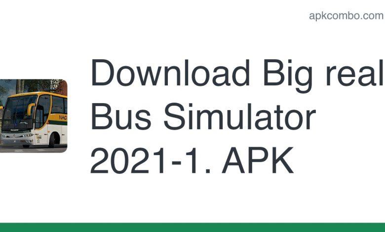 Download Big real Bus Simulator 2021-1. APK