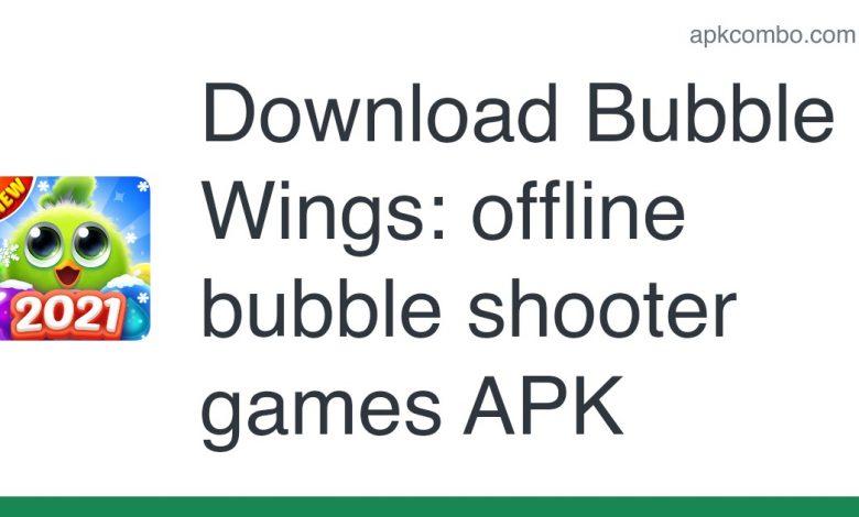 Download Bubble Wings: offline bubble shooter games APK