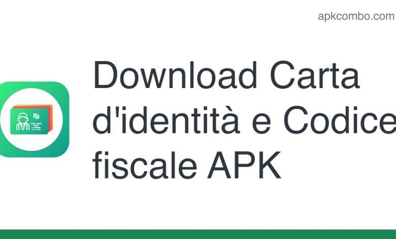 Download Carta d'identità e Codice fiscale APK
