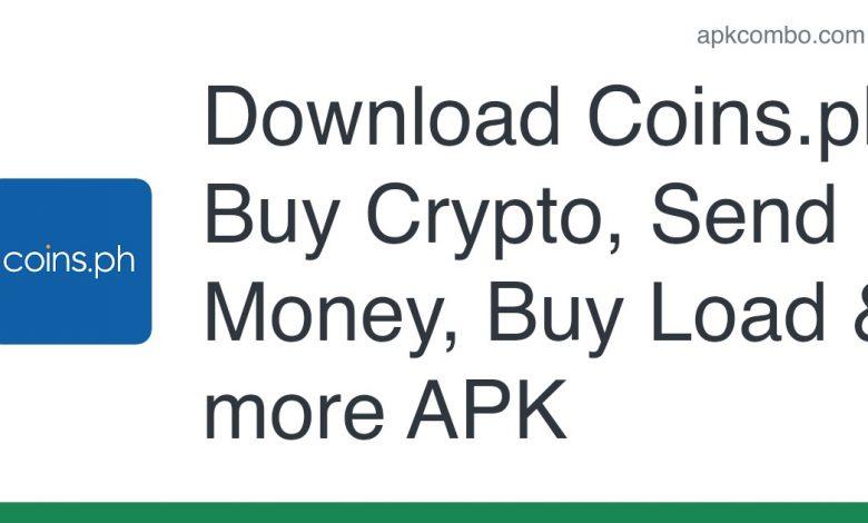 Download Coins.ph: Buy Crypto, Send Money, Buy Load & more APK