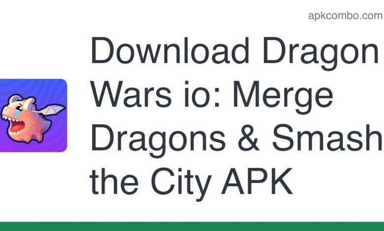 Download Dragon Wars io: Merge Dragons & Smash the City APK