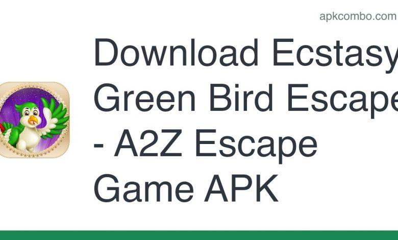 Download Ecstasy Green Bird Escape - A2Z Escape Game APK