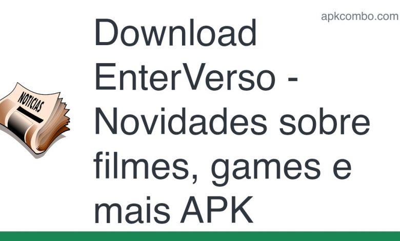 [Released] EnterVerso - Novidades sobre filmes, games e mais