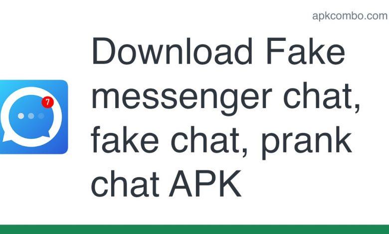 Download Fake messenger chat, fake chat, prank chat APK