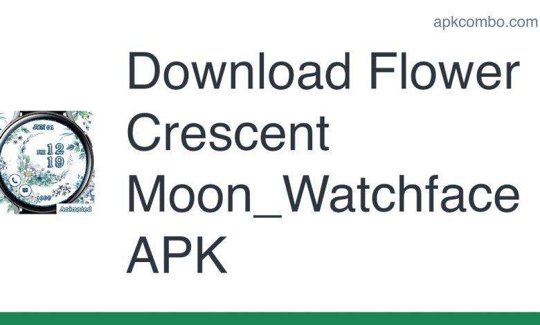 Download Flower Crescent Moon_Watchface APK