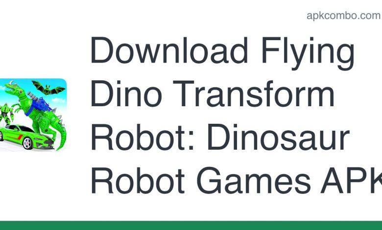 Download Flying Dino Transform Robot: Dinosaur Robot Games APK