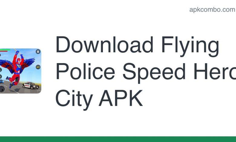 Download Flying Police Speed Hero City APK