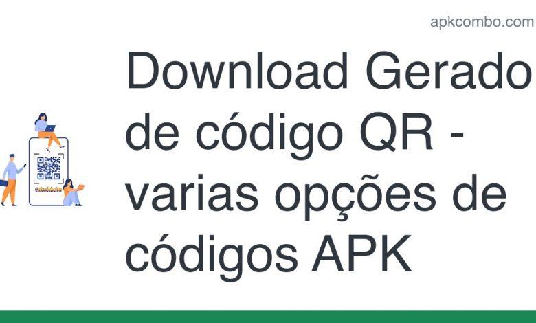 Download Gerador de código QR - varias opções de códigos APK