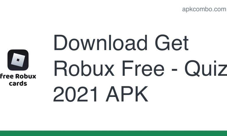Download Get Robux Free - Quiz 2021 APK