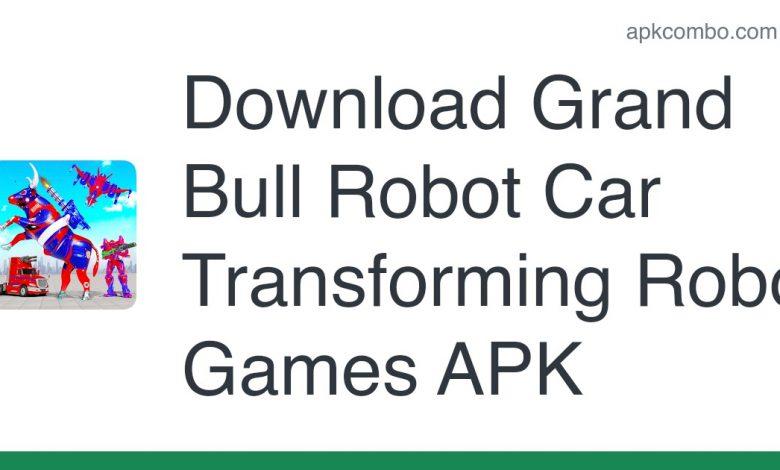 Download Grand Bull Robot Car Transforming Robot Games APK